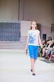 TERNOPIL UKRAINE - MAY 17: Podolyany Fashion Week.  May 17, 2015 Stock Images