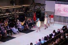 TERNOPIL UKRAINE - MAY 17: Podolyany Fashion Week.  May 17, 2015 Royalty Free Stock Image