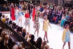 TERNOPIL UKRAINE - MAY 17: Podolyany Fashion Week.  May 17, 2015 Royalty Free Stock Photo