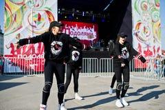 Ternopil, Ukraine - October 1, 2017: Modern dance kids at Podoly Stock Photos