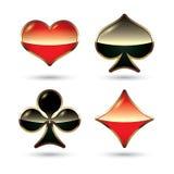Ternos do cartão   Imagem de Stock Royalty Free