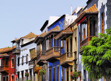 Teror Balconies Stock Images