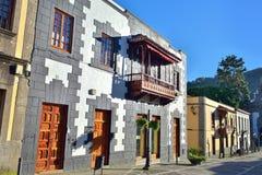Teror, Gran Canaria imagens de stock