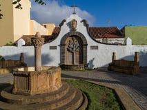 Teror Gran Canaria Spanien Arkivfoto