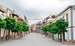 Teror town, Gran Canaria royalty free stock photography