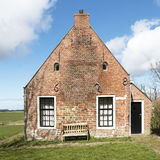 Terp house in Friesland from 1628. Stock Photography