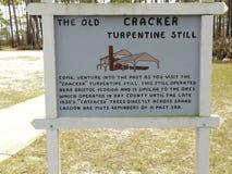 Terpentin undertecknar fortfarande in delstatsparken Arkivfoton