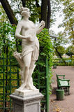 Terpsichore statue, St. Petersburg, Russia Royalty Free Stock Photo