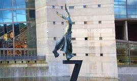 Terpsicore dansmusa Sculture av Salvador Dali Fotografering för Bildbyråer