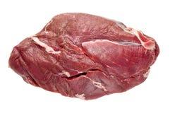 Terrón de la carne sin procesar fotografía de archivo libre de regalías