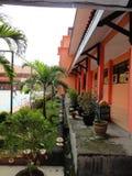 Terraço da escola Imagem de Stock Royalty Free