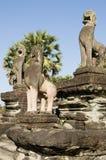 Terraço da honra, Angkor Wat Foto de Stock