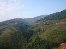 Terraço da montanha Fotografia de Stock Royalty Free