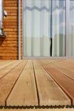 Terraço de madeira Imagem de Stock