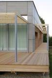 Terraço de madeira Imagens de Stock Royalty Free
