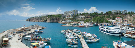 Terraço do cruzeiro de Antalya foto de stock