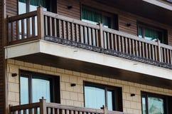 Terraço do hotel Imagens de Stock