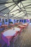 Terraço dos restaurantes Imagens de Stock Royalty Free