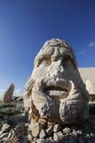 Terraço ocidental de Mount Nemrut, Turquia Fotos de Stock