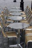 Terraço vazio Foto de Stock