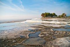 Terraços de Pamukkale Foto de Stock
