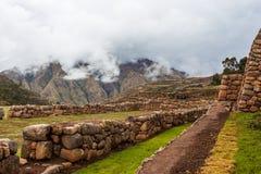 Terraços de pedra e paredes de pedra Fotografia de Stock Royalty Free