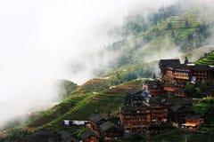 terraços do arroz Imagens de Stock