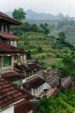 Terraços perdidos do hotel e do arroz fotos de stock royalty free