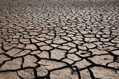 Terra áspera seca Fotografia de Stock Royalty Free