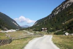 Terra Áustria Tirol de Salzburger da cachoeira de Krimml Imagem de Stock Royalty Free