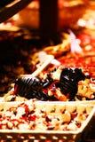 terra стойки pulcinella naples маски cotta масленицы стоковое фото rf