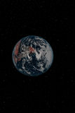 Terra 1 Fotografie Stock Libere da Diritti
