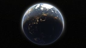 Terra video d archivio