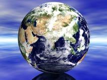 terra 3D Foto de Stock Royalty Free