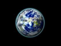 Terra 3d Foto de Stock