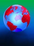 Terra 3d Ilustração do Vetor