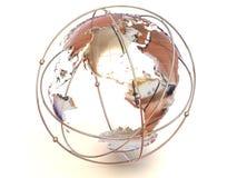 Terra. 3d Foto de Stock Royalty Free