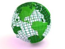 Terra. 3d ilustração do vetor
