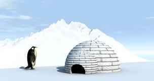 Terra 4 do gelo Imagens de Stock