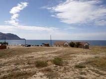 Terra abençoada Crimeia, o Mar Negro foto de stock royalty free