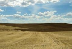 Terra agrícola fotografia de stock royalty free