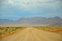 Terra alta d'avvicinamento in Namibia Fotografia Stock