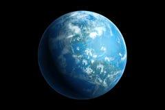 Terra, América Imagens de Stock