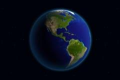 Terra - America illustrazione di stock