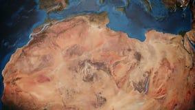 Terra animata con terreno dettagliato illustrazione vettoriale