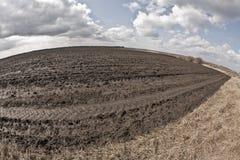 Terra arabile Fotografie Stock