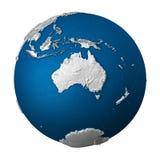 Terra artificial - Austrália Imagem de Stock