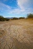 Terra asciutta del Sandy Fotografie Stock Libere da Diritti