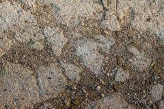 Terra asciutta e pietrosa immagine stock