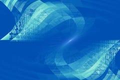 Terra astratta con il codice binario Immagini Stock Libere da Diritti